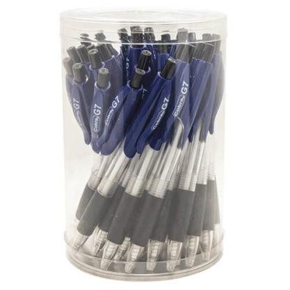 עטים כדוריים לחצן